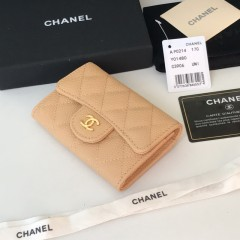 1:1 original leather Chanel wallet P0124 00134 top quality