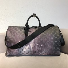 1:1 original leather Louis Vuitton tote travel bag galaxy 50cm M44451 00202 top quality