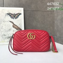 1:1 original leather Gucci shoulder bag cross body bag #447632 00250 top quality