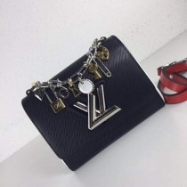 1:1 original leather Louis shoulder bag love charms epi twist denim M52891/M50332 00415 top quality