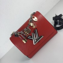 1:1 original leather Louis shoulder bag love charms epi twist denim M52891/M50332 00414 top quality