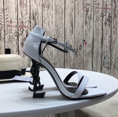 1:1 original leather Manolo Blahnik women sandal Swarovski diamond 00803 top quality