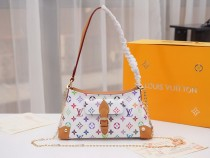 1:1 louis vuitton tote shoulder bag monogram multicolore M40707 01525 top quality