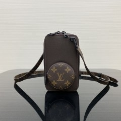 1:1 Original leather louis vuitton camera bag mobile phone bag M30581 01519 top quality
