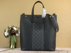 1:1 Original leather louis vuitton men tote bag outdoor breifcase M30431 01522 top quality