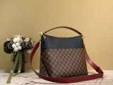 1:1 Original leather louis vuitton tote shoulder bag maida N40366/N40369 01568 top quality
