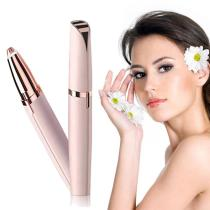 Electric Eyebrow Trimmer Women USB Rechargeable Mini Eyebrow Shaver Instant Painless Face Brows Hair Remover Epilator Razors