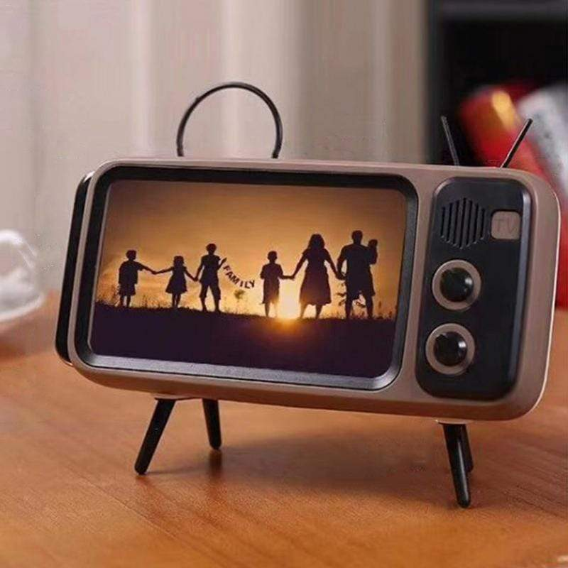 Us 55 59 Retro Tv Bluetooth Speaker Mobile Phone Holder M Cccinlife Com