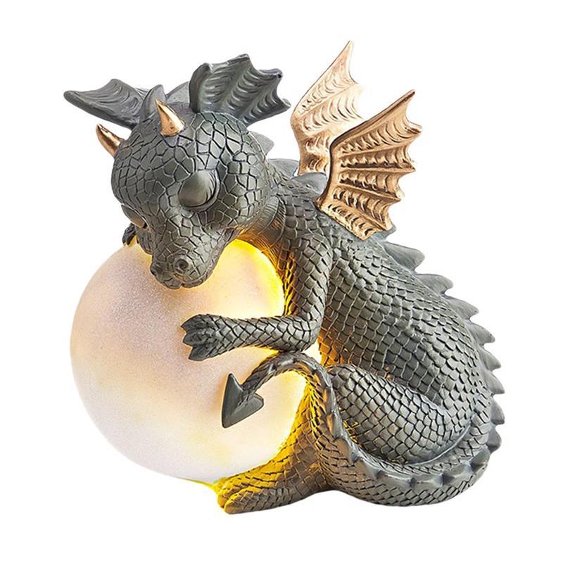 الريال السعودي 300 - 「20% OFF」MystiCalls Garden Dragon Meditated Statue -  m.islelandy.store