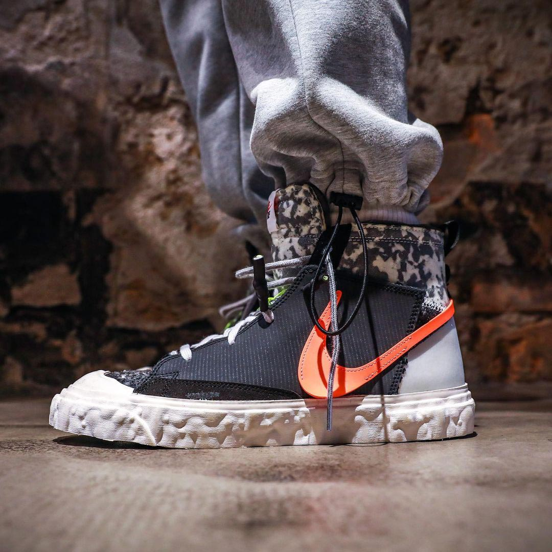 Nike Blazer Mid READYMADE Black - m.flamsneaker.com
