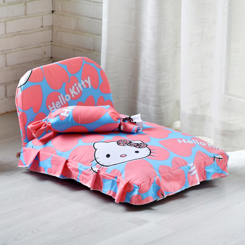 Dog kennel, removable and washable Teddy pet kennel, bichon princess dog bed,  small and medium-sized dog and cat kennel, winter products