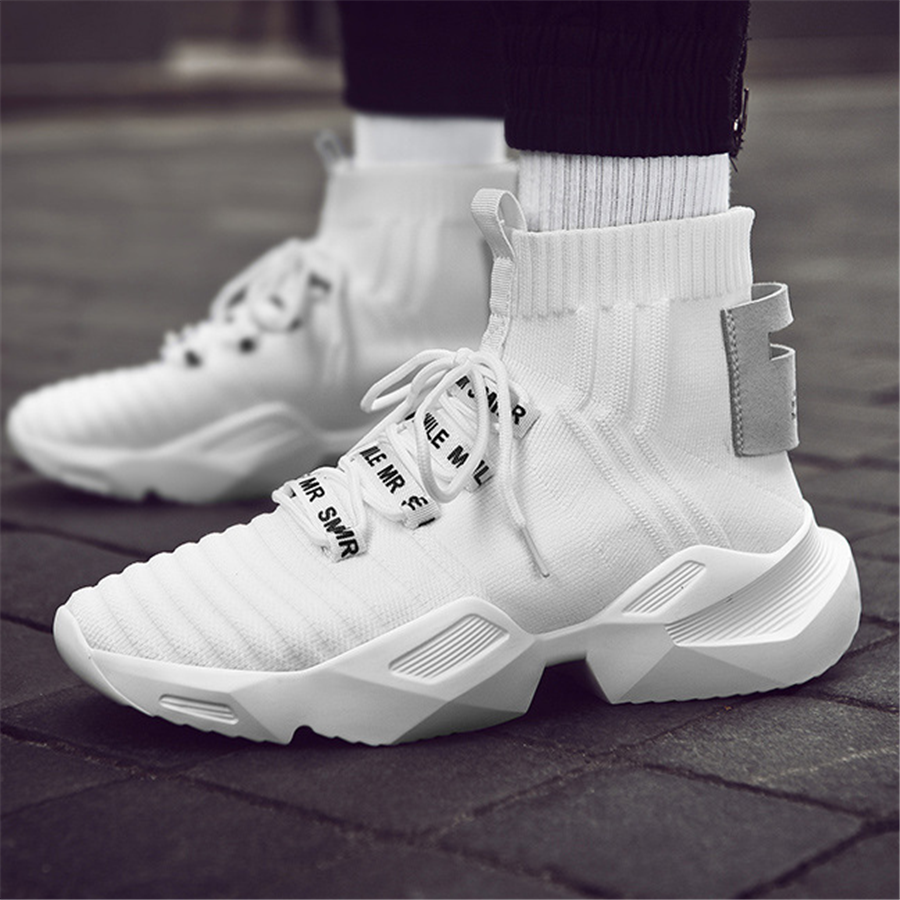 casual high-top sport sneakers