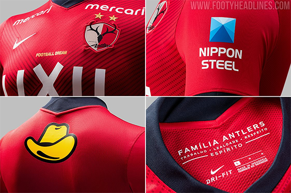 Kashima Antlers Jersey 2021/22 Home Football Jersey Soccer ...