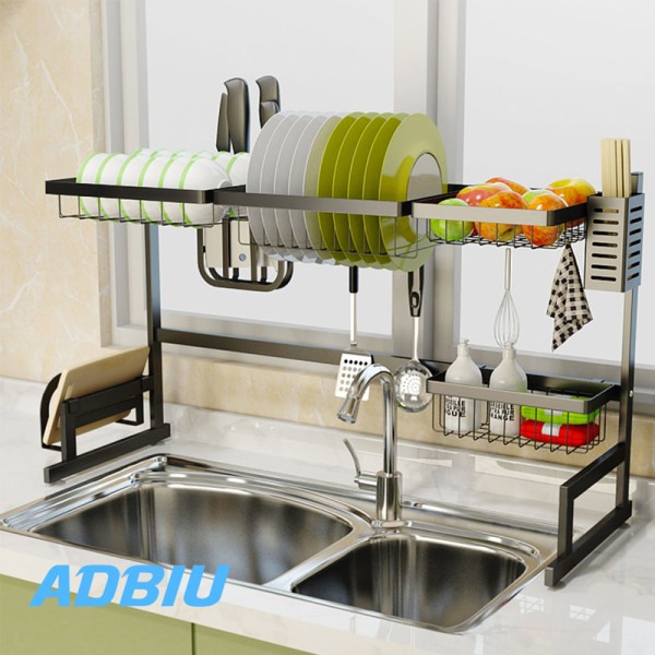 Black Over Sink Dish Drying Rack,Sink Length ≤ 32.5 inch