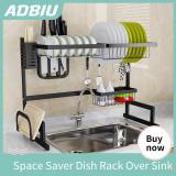 Black Over Sink Dish Drying Rack,Sink Length ≤ 24.8 inch