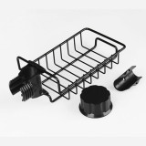 Kitchen Faucet Sponge Holder, Stainless Steel Storage Rack Hanging Sink Caddy Organizer for Scrubbers(2 Pairs)
