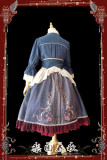 Infanta -Chinese Peking Opera- Qi Lolita Blouse with Long Sleeves