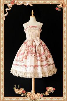 Infanta -Champs Elysees- Classic Lolita Jumper Skirts JSK Dresses