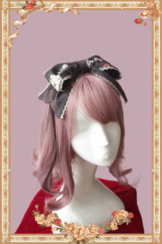 Infanta -Clock Tower Tea Party- Classic Lolita Headbow