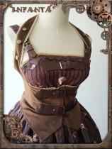 Infanta -Mechanical Puppets- Punk Lolita Corset
