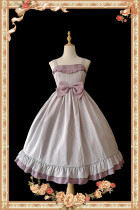 Infanta -Berece- Classic Cotton Lolita Jumper Skirts JSK Dress