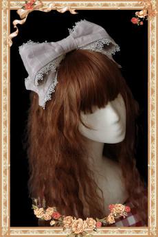 Infanta -Dorothy Tour- Classic Lolita Plaid Headbow