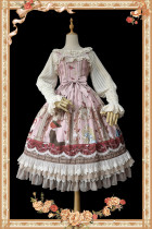 Infanta -Clock Tower Tea Party- Classic Lolita Jumper Skirts Dresses