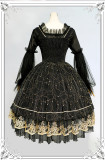 Milu Orig -Star in Dream- Classic Lolita JSK Jumper Skirt Dresses