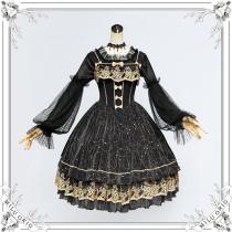Milu Orig -Star in Dream- Classic Lolita JSK Jumper Skirt Dresses
