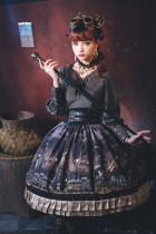 Sika Lolita -Age of Steam- Punk Lolita Skirts