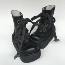 Antaina - Punk Lolita Cow Leather High Platform Boots