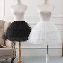 A-line Shaped Bell Shaped 45cm Long Adjustable Puffy Level Lolita Petticoat