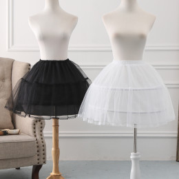 A-line Shaped Bell Shaped 45cm Long Adjustable Puffy Level Lolita Petticoat