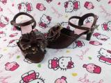Antaina - Sweet Lolita Heels Shoes Sandals With Bows