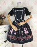 Sweet Off Shoulder High Waist Lolita Blouse