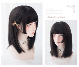 Alice Garden - Lolita 42cm Middle length Straight Wig