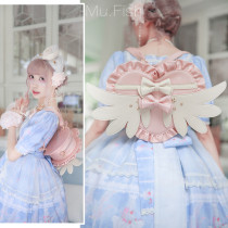 Lovely Lota - Angle Wing Heart Sweet Lolita Bag