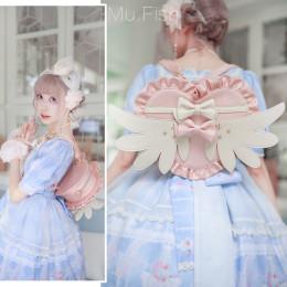 Lovely Lota - Angle Wing Heart Sweet Lolita Bag