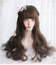 Alice Garden - Sweet 55cm Long Curly Wavy Lolita Wig