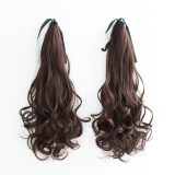 Dark Brown Curly(2 pieces)