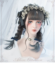 Alice Garden - 45cm Middle Length Curly Wavy Lolita Wig