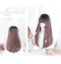 Alice Garden - Mikkeli 60cm Long Straight Rose Gold Lolita Wig