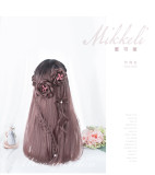 Alice Garden - Mikkeli 60cm Long Straight Rose Gold Lolita Wig