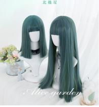 Alice Garden - Polaris Turquoise Straight Lolita Wig
