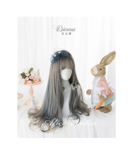 Alice Garden - 65cm Long Wavy Two Color Lolita Wig