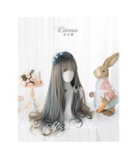 Alice Garden - 65cm Long Wavy Two Color Lolita Wig
