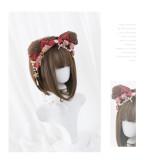 Alice Garden - 26cm Lolita Bobo Hair Wig