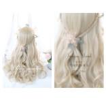 Alice Garden - 65cm Long Big Curly Wavy Blonde Lolita Wig