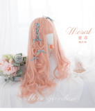 Alice Garden - 72cm Long Big Curly Wavy Orange Lolita Wig