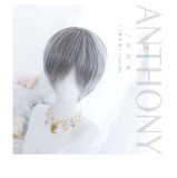Alice Garden - 28cm Short Silver Handsome Ouji Lolita Wig
